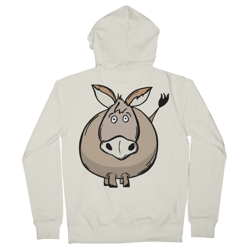 Sweet Donkey Men's French Terry Zip-Up Hoody by The Modern Goldfish Shop