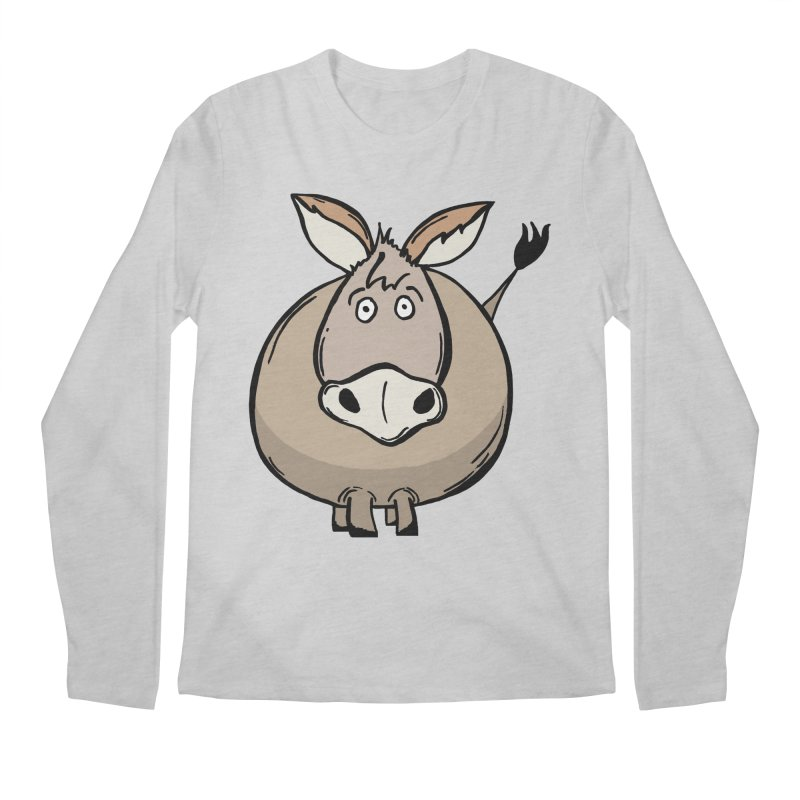 Sweet Donkey Men's Regular Longsleeve T-Shirt by The Modern Goldfish Shop