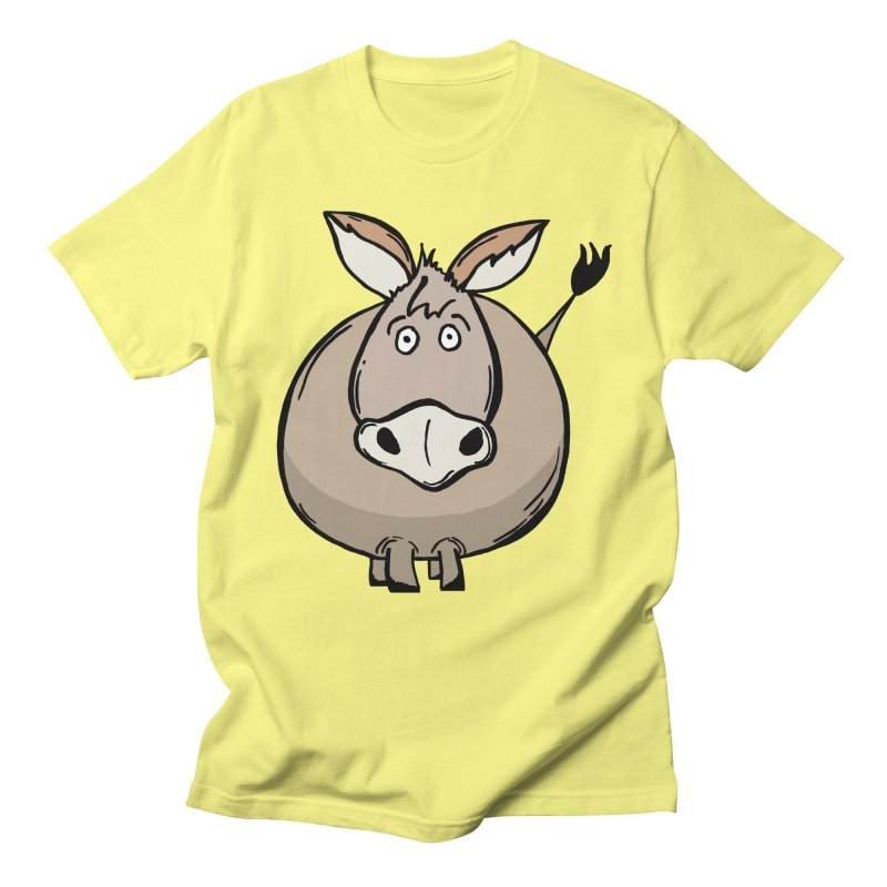 Sweet Donkey Men's T-Shirt by The Modern Goldfish Shop