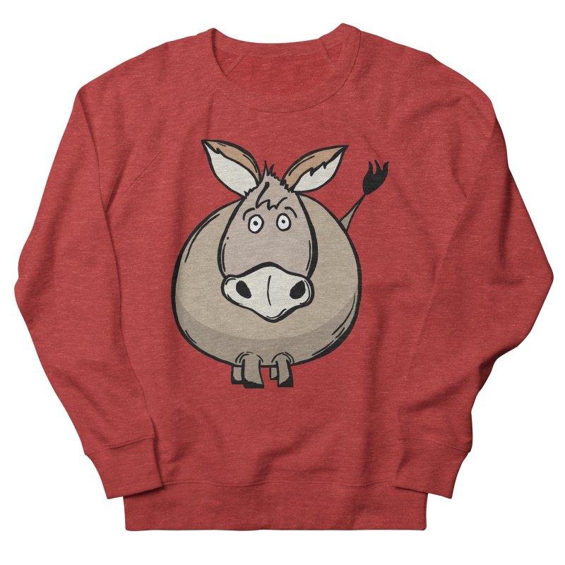 Sweet Donkey Women's French Terry Sweatshirt by The Modern Goldfish Shop