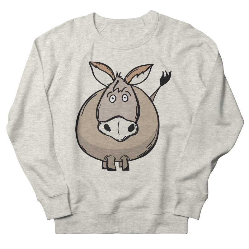 Sweet Donkey Men's French Terry Sweatshirt by The Modern Goldfish Shop