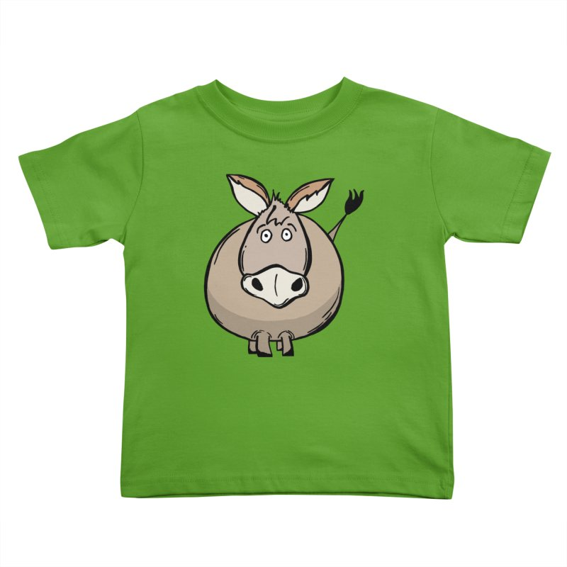 Sweet Donkey Kids Toddler T-Shirt by The Modern Goldfish Shop
