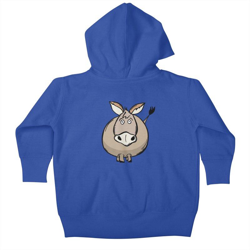 Sweet Donkey Kids Baby Zip-Up Hoody by The Modern Goldfish Shop