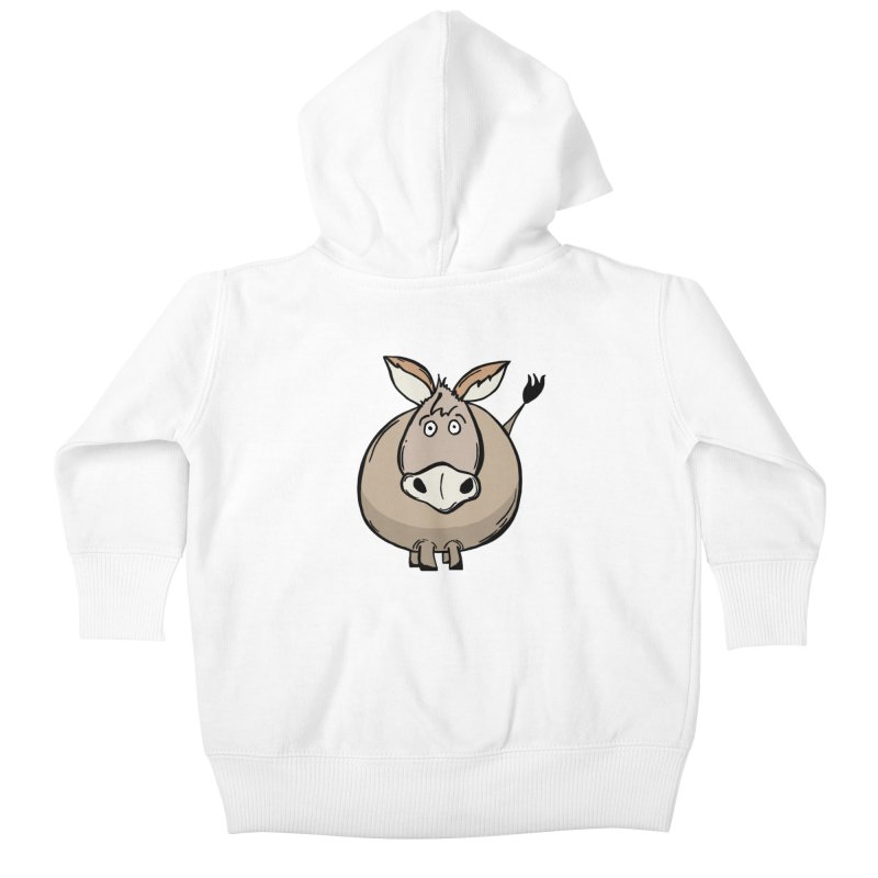 Sweet Donkey Kids Baby Zip-Up Hoody by The Modern Goldfish Shop