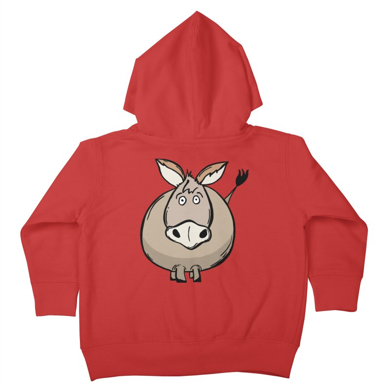 Sweet Donkey Kids Toddler Zip-Up Hoody by The Modern Goldfish Shop