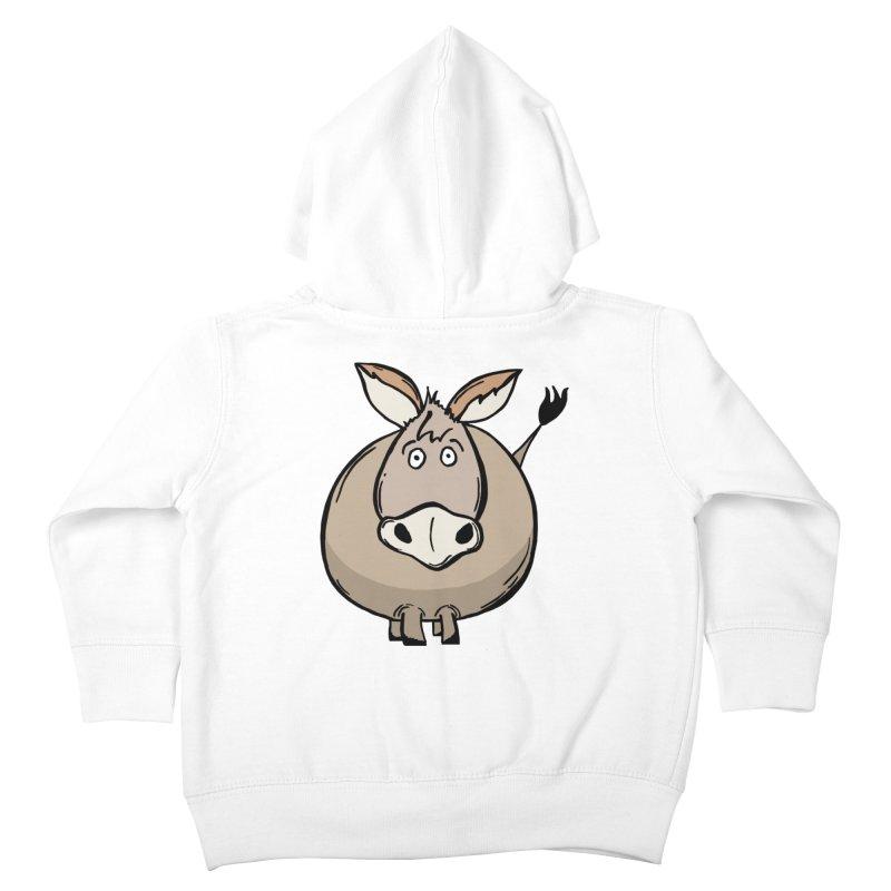 Sweet Donkey Kids Toddler Zip-Up Hoody by The Modern Goldfish Shop