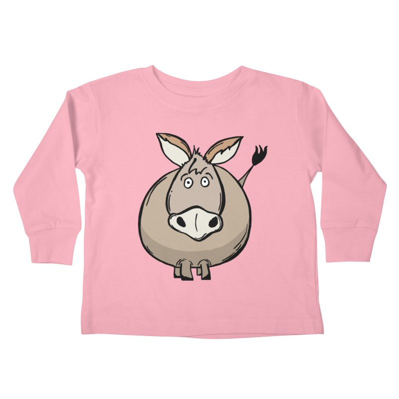 Sweet Donkey Kids Toddler Longsleeve T-Shirt by The Modern Goldfish Shop