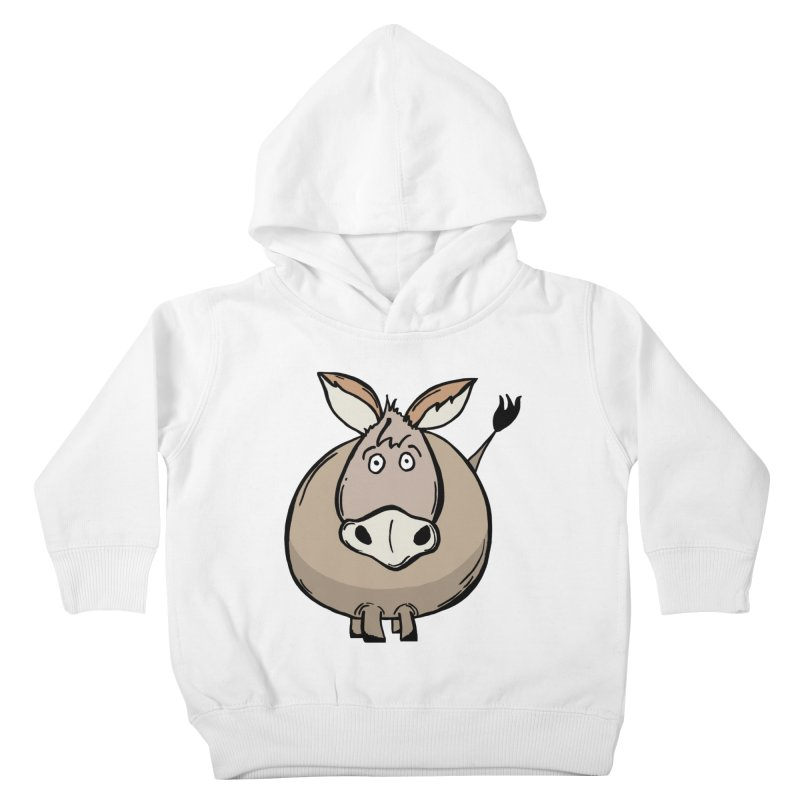 Sweet Donkey Kids Toddler Pullover Hoody by The Modern Goldfish Shop