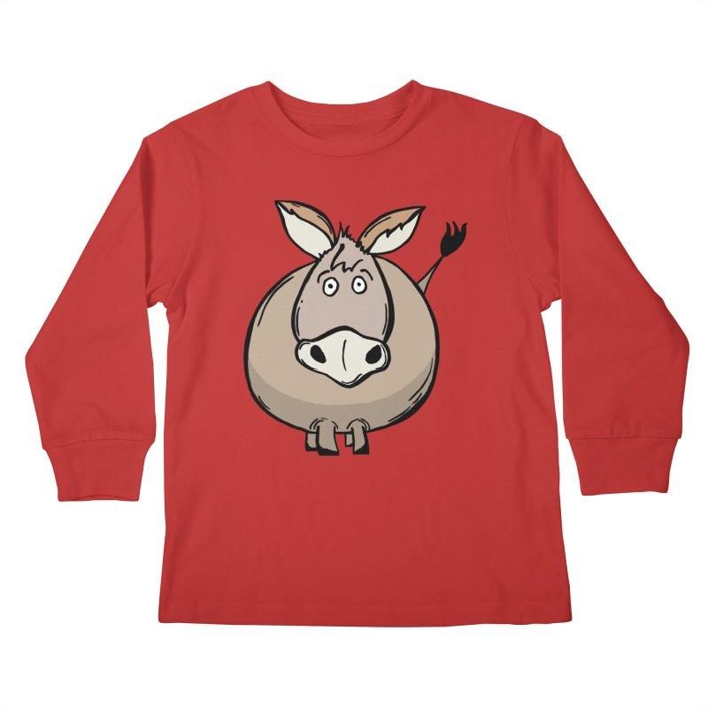 Sweet Donkey Kids Longsleeve T-Shirt by The Modern Goldfish Shop