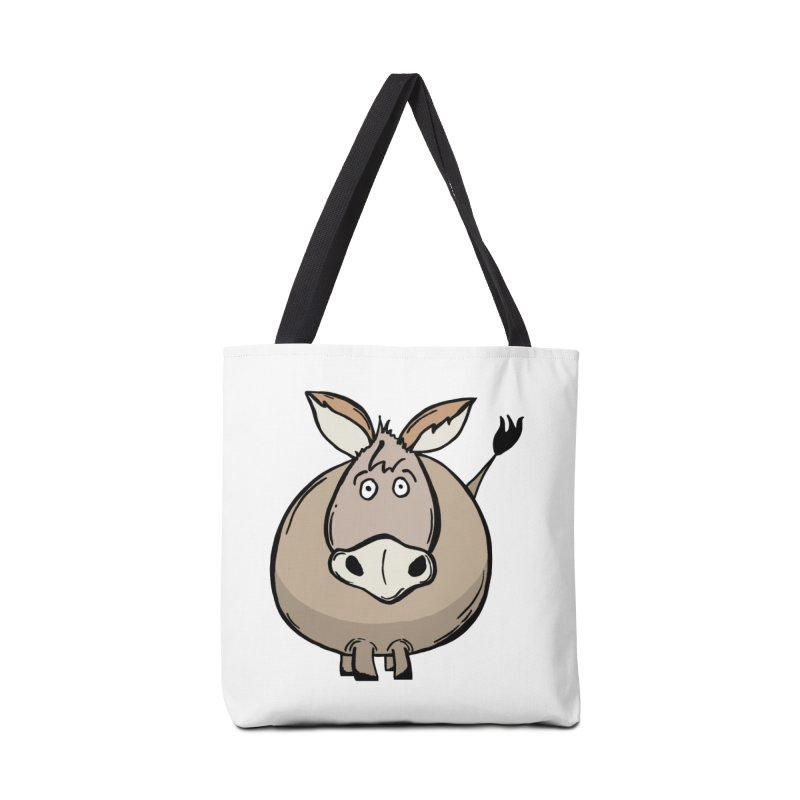 Sweet Donkey Accessories Tote Bag Bag by The Modern Goldfish Shop