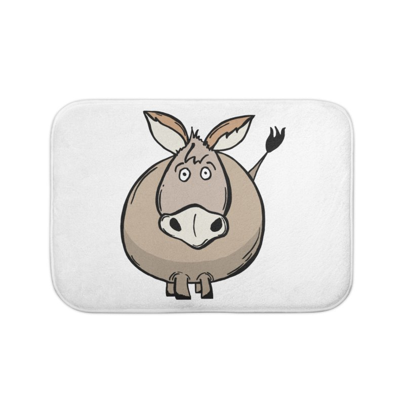 Sweet Donkey Home Bath Mat by The Modern Goldfish Shop