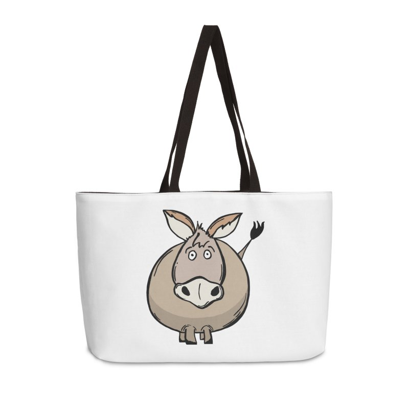 Sweet Donkey Accessories Weekender Bag Bag by The Modern Goldfish Shop