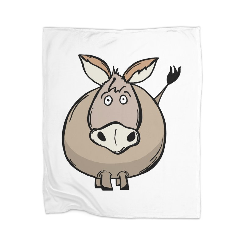 Sweet Donkey Home Blanket by The Modern Goldfish Shop