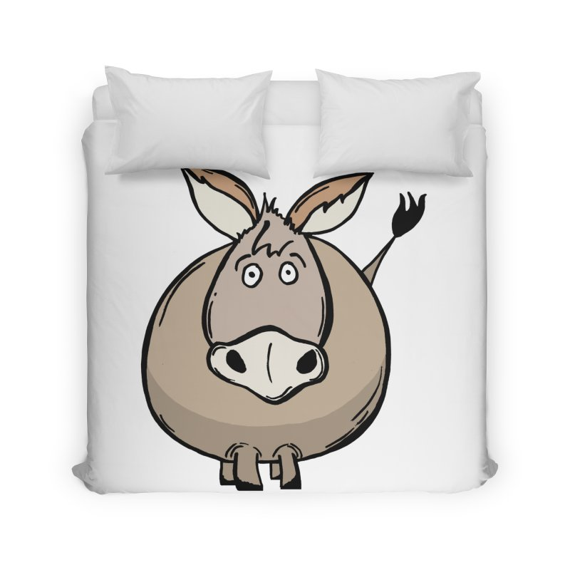 Sweet Donkey Home Duvet by The Modern Goldfish Shop