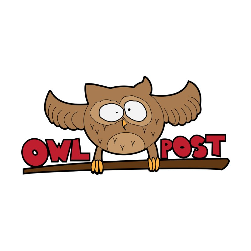 OwL PoSt Men's T-Shirt by The Modern Goldfish Shop