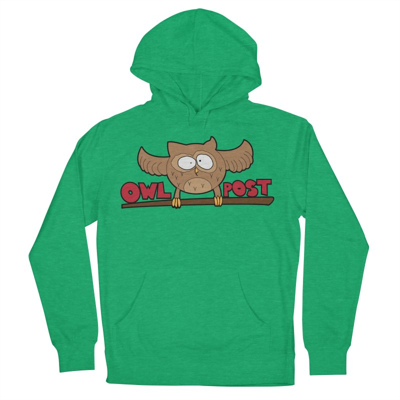 OwL PoSt Women's French Terry Pullover Hoody by The Modern Goldfish Shop