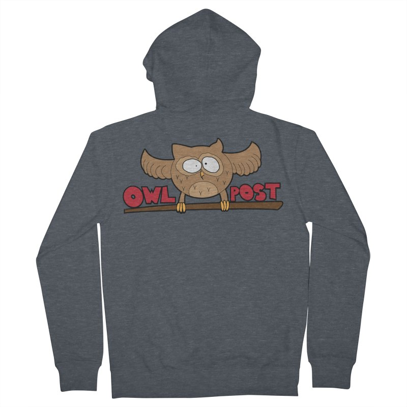 OwL PoSt Men's French Terry Zip-Up Hoody by The Modern Goldfish Shop