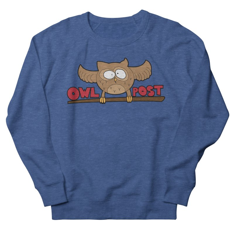 OwL PoSt Women's French Terry Sweatshirt by The Modern Goldfish Shop