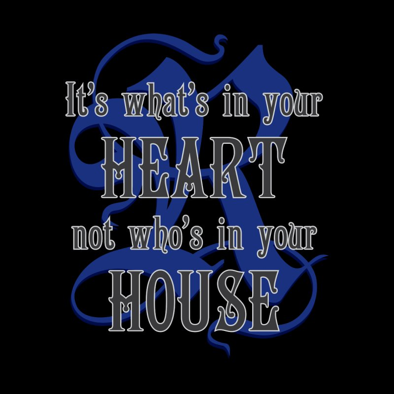 Heart not House - Ravenclaw Men's Longsleeve T-Shirt by The Modern Goldfish Shop