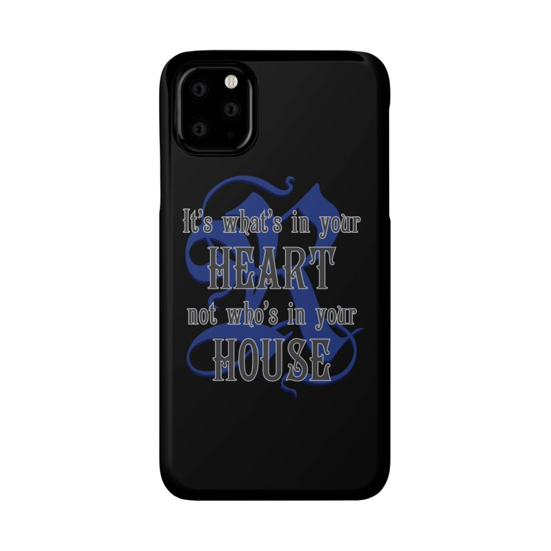 Heart not House - Ravenclaw Accessories Phone Case by The Modern Goldfish Shop