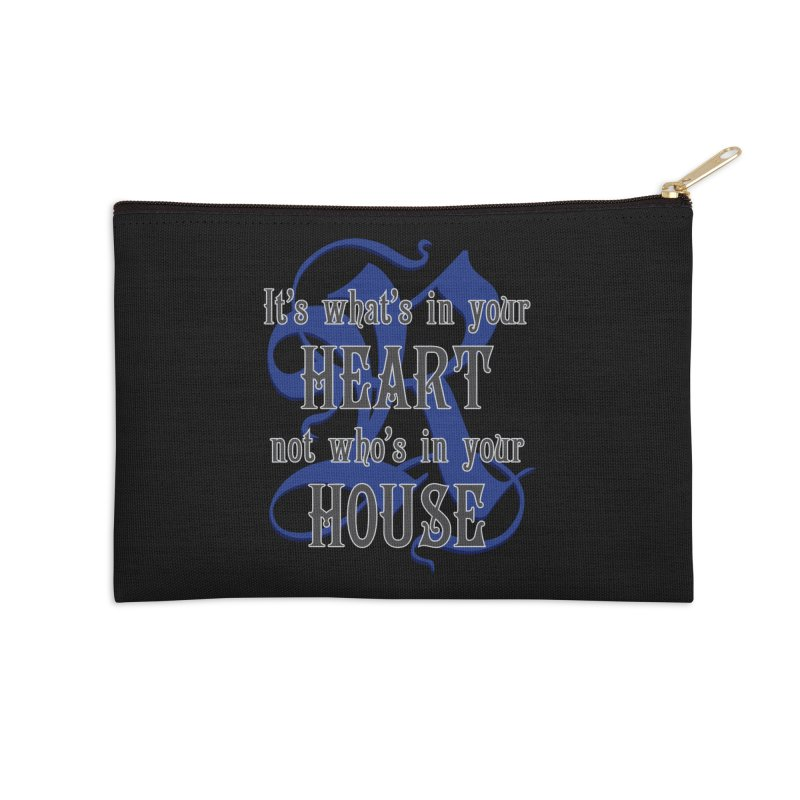 Heart not House - Ravenclaw Accessories Zip Pouch by The Modern Goldfish Shop