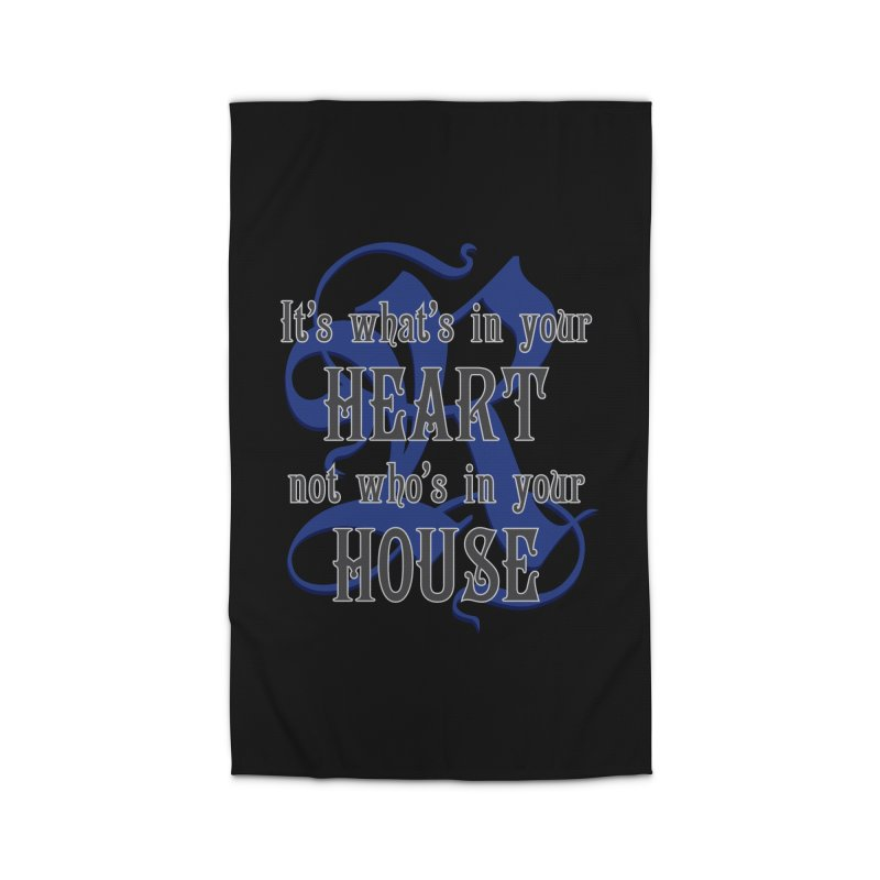 Heart not House - Ravenclaw Home Rug by The Modern Goldfish Shop