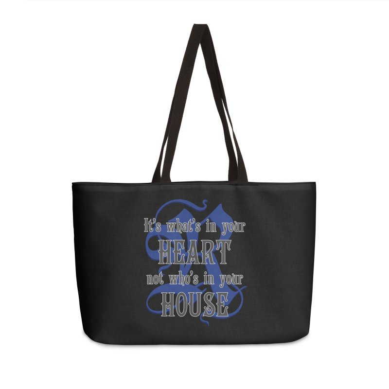 Heart not House - Ravenclaw Accessories Bag by The Modern Goldfish Shop