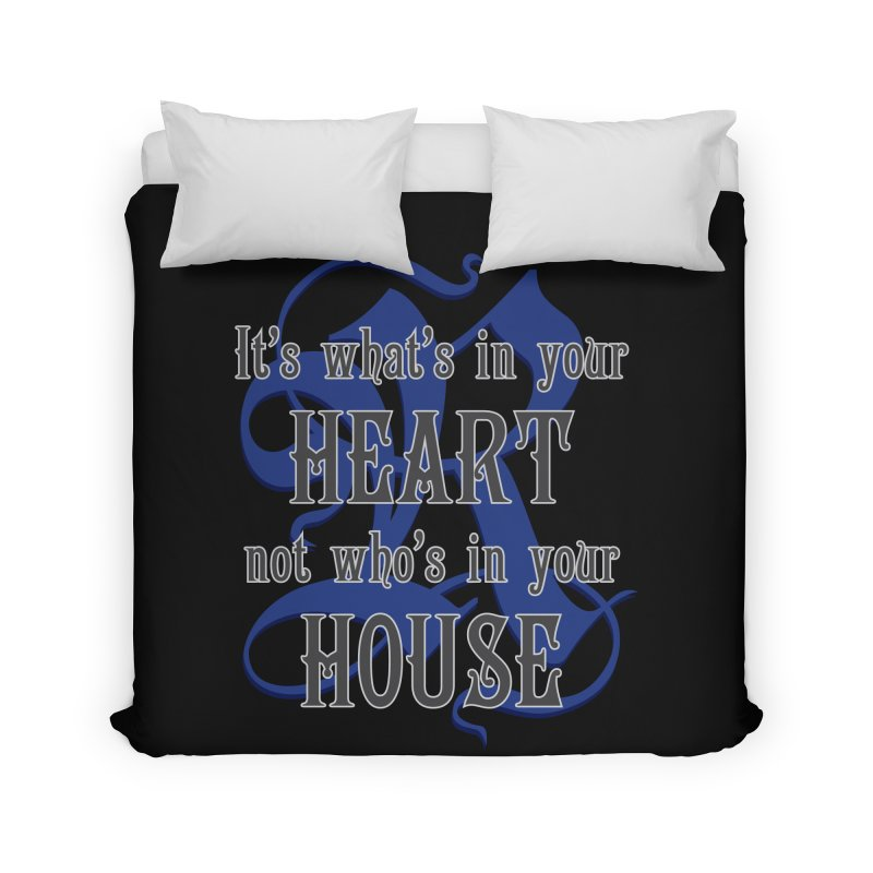 Heart not House - Ravenclaw Home Duvet by The Modern Goldfish Shop