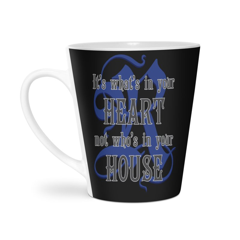 Heart not House - Ravenclaw Accessories Latte Mug by The Modern Goldfish Shop