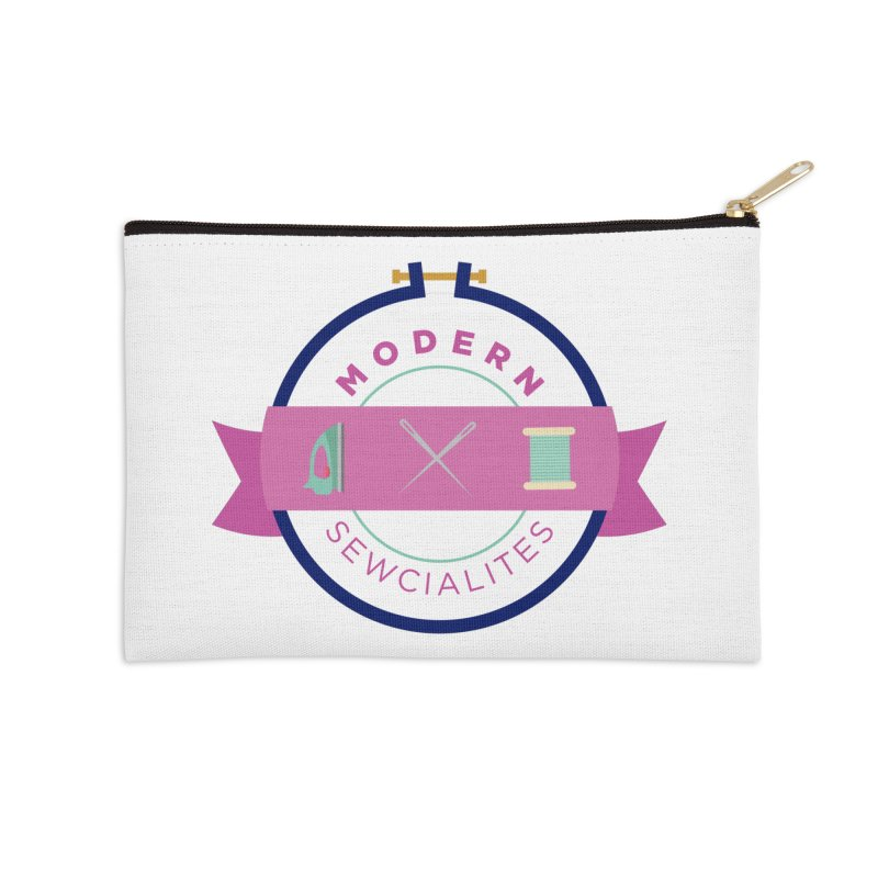 Modern Sewcialites Accessories Zip Pouch by Modern Sewciety's Merchandise Shop