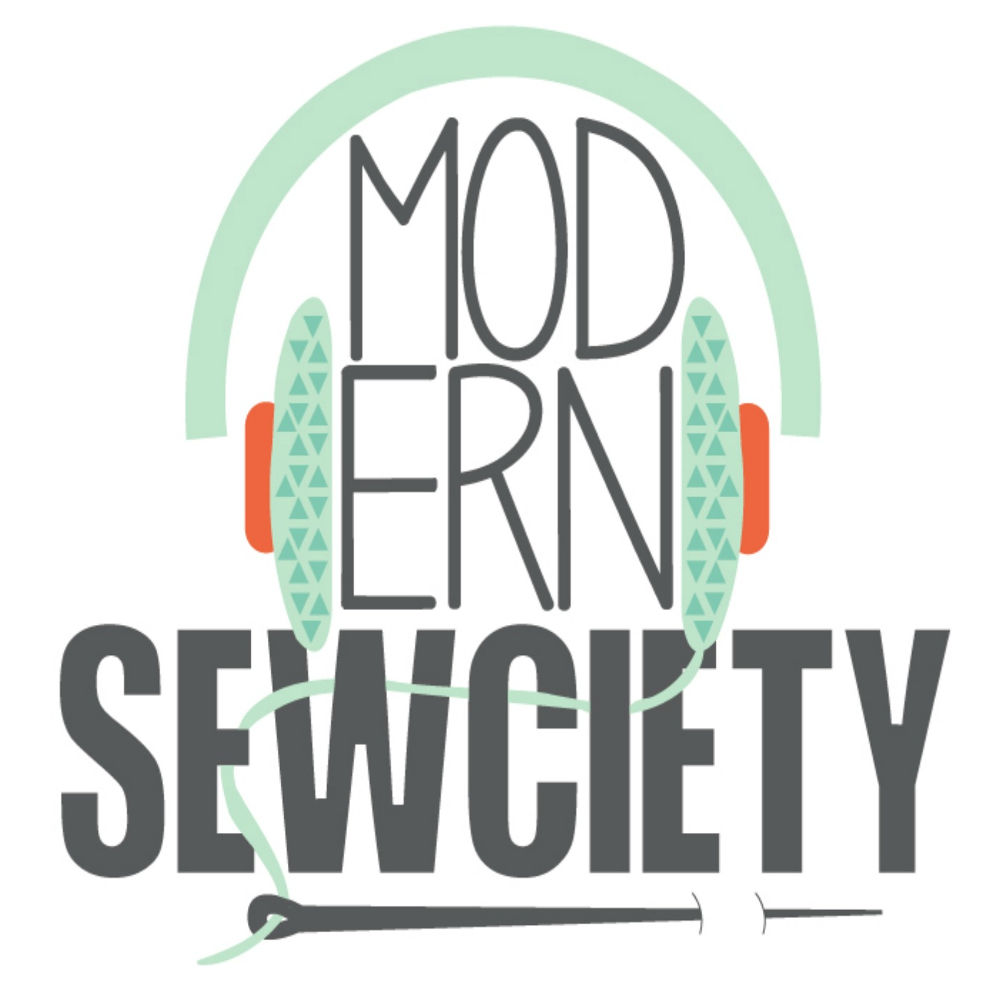 Modern Sewciety's Merchandise Shop Logo
