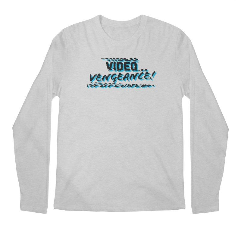 Video Vengeance Men's Regular Longsleeve T-Shirt by Modern Superior