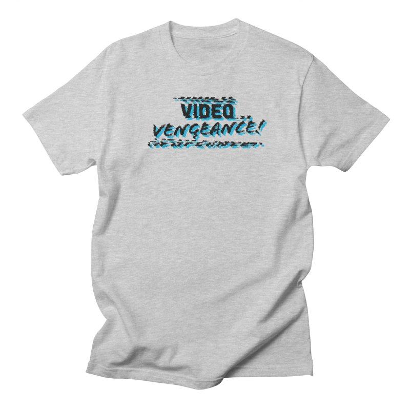 Video Vengeance Men's Regular T-Shirt by Modern Superior