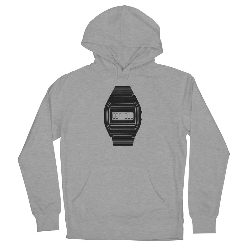 What's The Time? Men's French Terry Pullover Hoody by Modern Superior