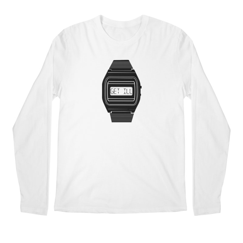 What's The Time? Men's Regular Longsleeve T-Shirt by Modern Superior