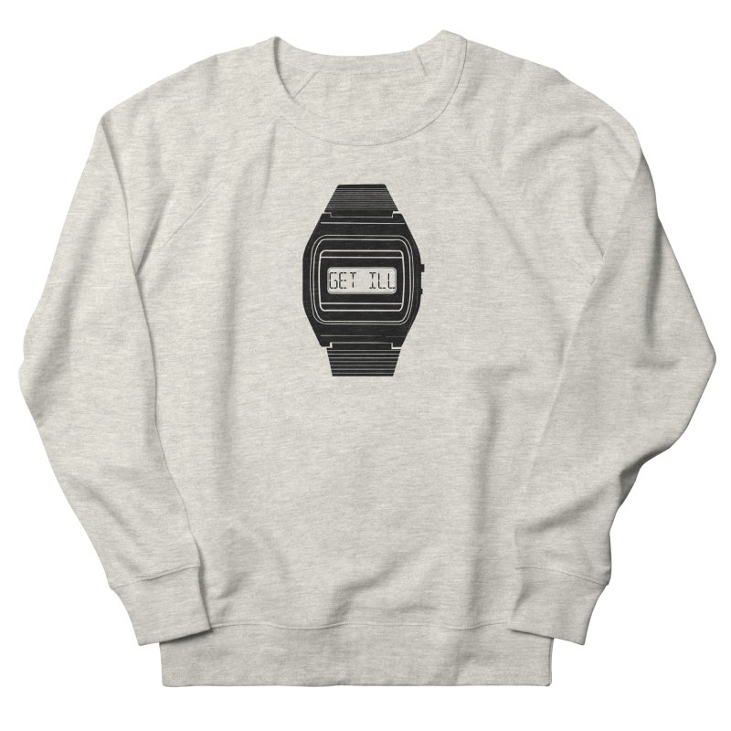 What's The Time? Men's French Terry Sweatshirt by Modern Superior