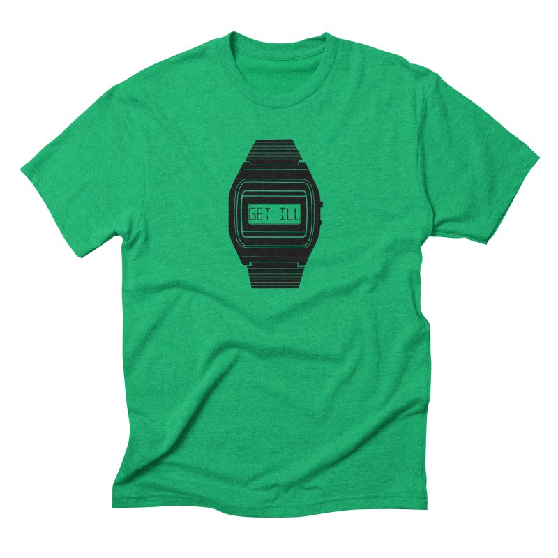 What's The Time? Men's Triblend T-Shirt by Modern Superior