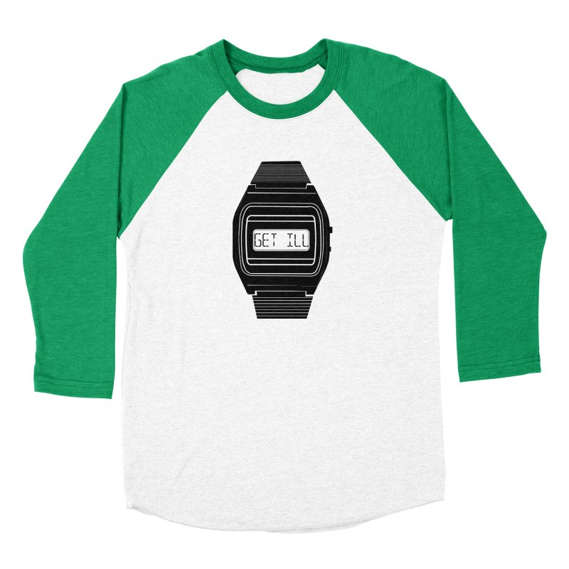 What's The Time? Women's Baseball Triblend Longsleeve T-Shirt by Modern Superior