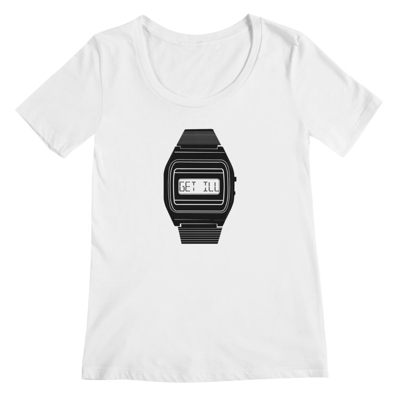 What's The Time? Women's Regular Scoop Neck by Modern Superior