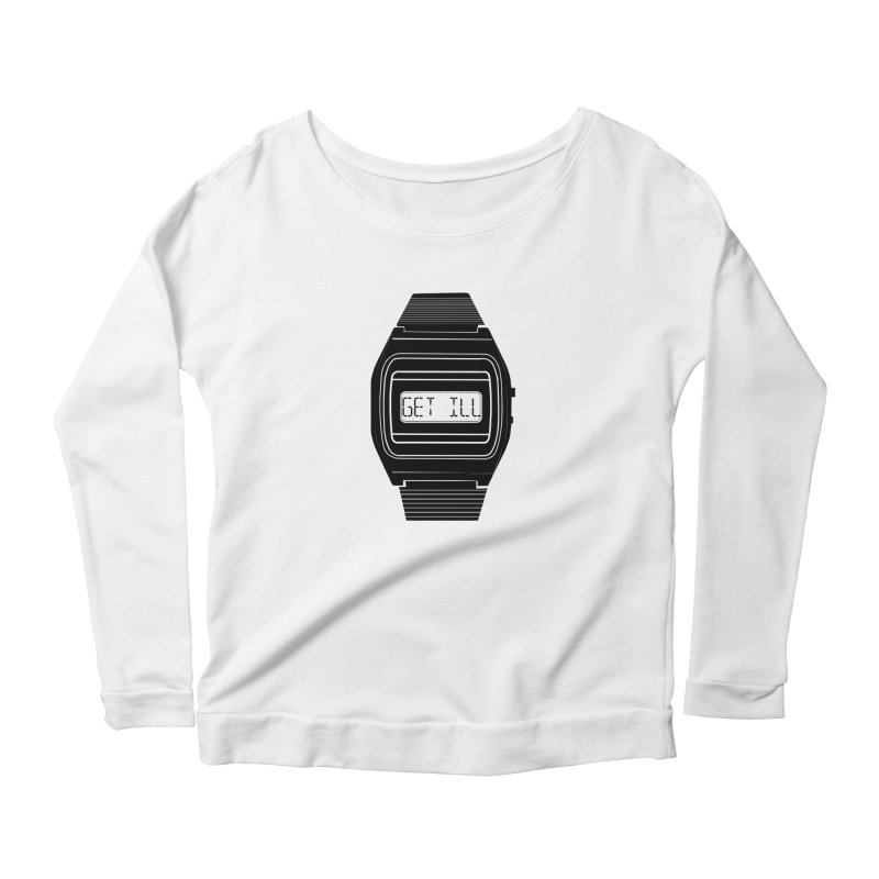 What's The Time? Women's Scoop Neck Longsleeve T-Shirt by Modern Superior