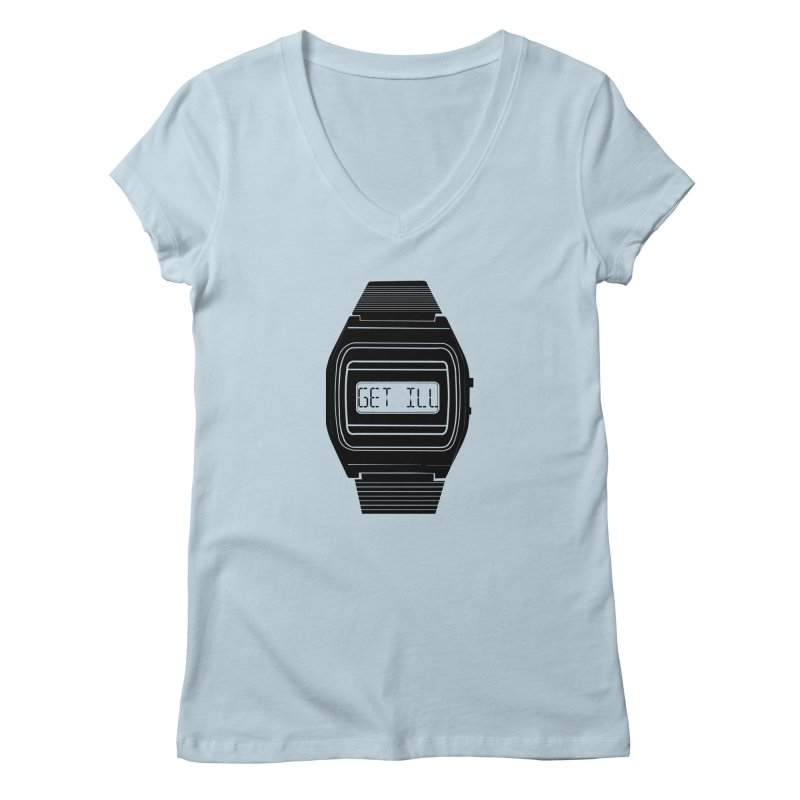 What's The Time? Women's V-Neck by Modern Superior