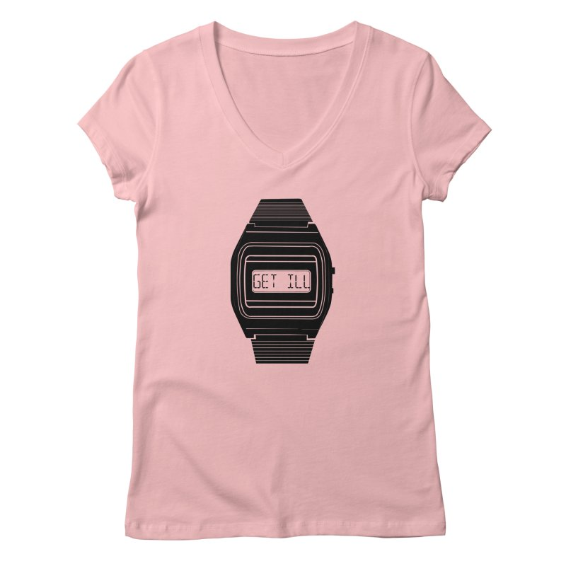 What's The Time? Women's Regular V-Neck by Modern Superior