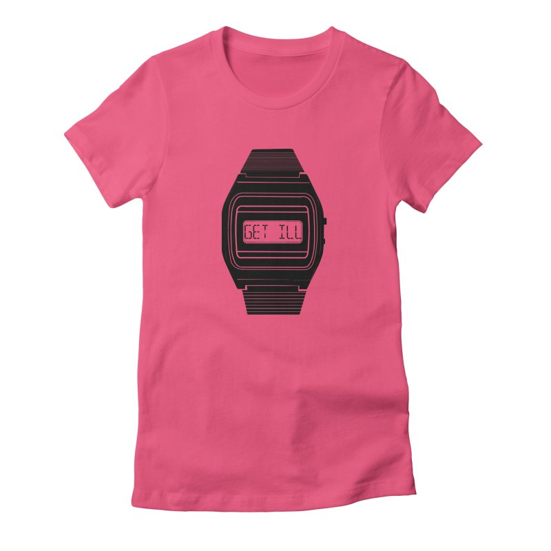 What's The Time? Women's Fitted T-Shirt by Modern Superior