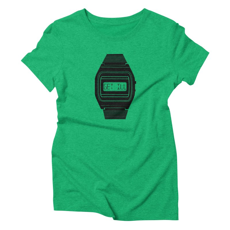 What's The Time? Women's Triblend T-Shirt by Modern Superior