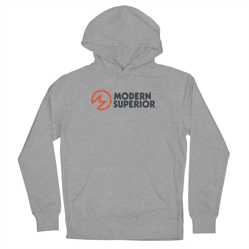 Modern Superior Logo Men's French Terry Pullover Hoody by Modern Superior