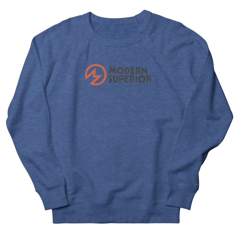 Modern Superior Logo Women's French Terry Sweatshirt by Modern Superior