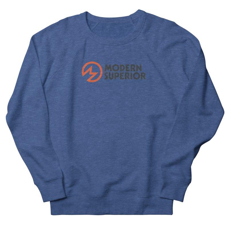Modern Superior Logo Men's French Terry Sweatshirt by Modern Superior