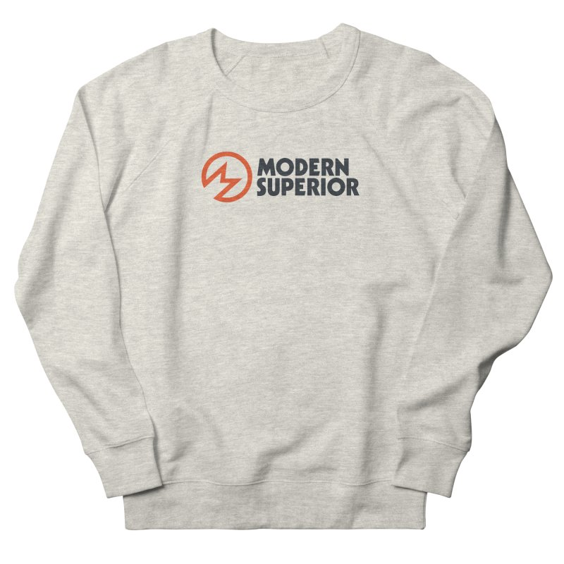 Modern Superior Logo Men's French Terry Sweatshirt by Modern Superior