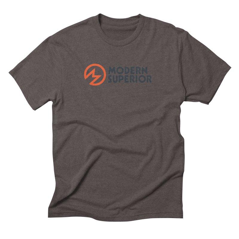 Modern Superior Logo Men's Triblend T-Shirt by Modern Superior
