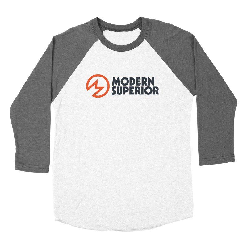 Modern Superior Logo Women's Baseball Triblend T-Shirt by Modern Superior